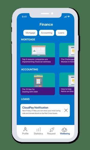 App Screen - promote succes