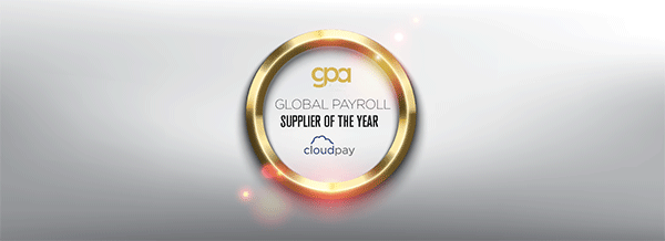 CloudPay Wins 'Global Payroll Supplier of the Year' Award
