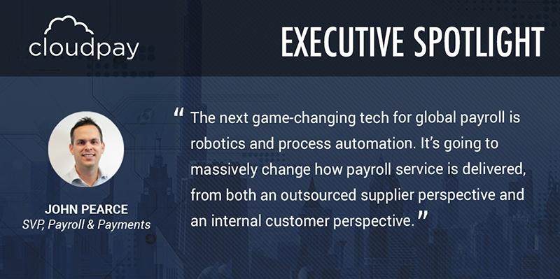 Executive Spotlight: John Pearce, Senior Vice President, Payroll & Payments
