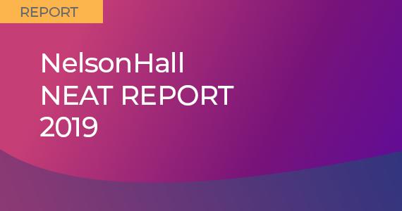NelsonHall NEAT Report 2019